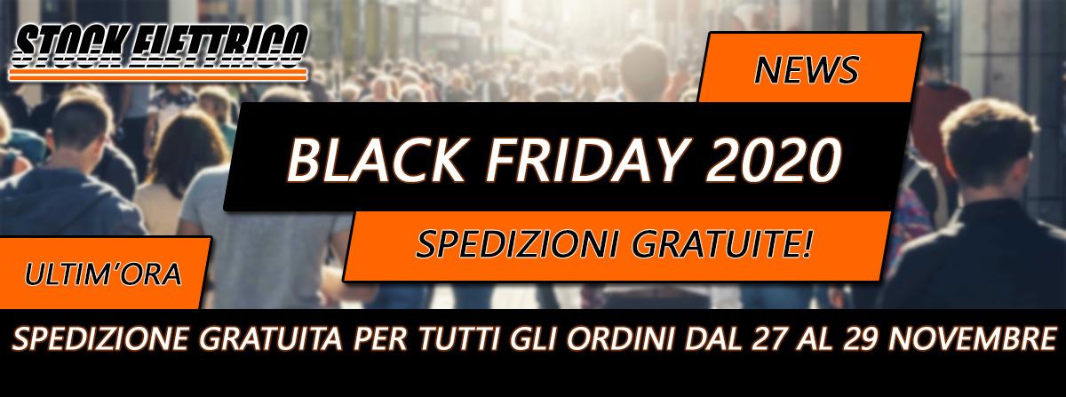 Stock Elettrico Black Friday 2018