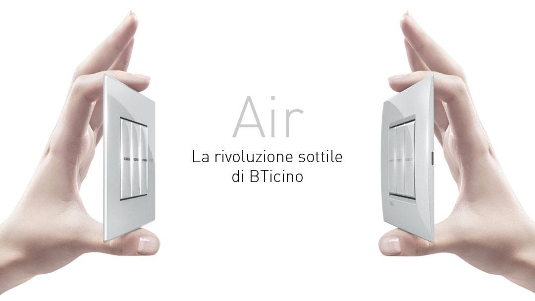 Placche Bticino Axolute Air Livinglight Air Stock Elettrico