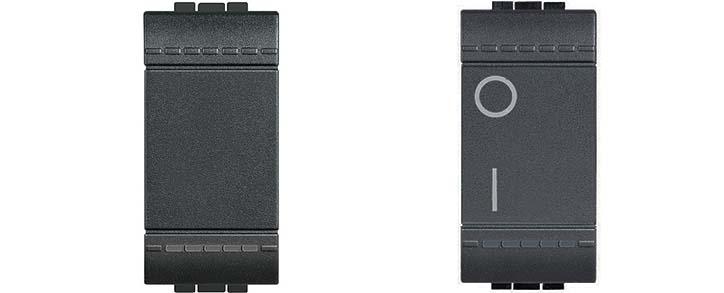 Schema Elettrico Per Due Punti Luce : Interruttore deviatore pulsante invertitore stock elettrico