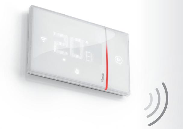 termostati wi fi bticino x8000 stock elettrico