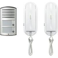 Bticino 366821 kit citofonico bifamiliare stock elettrico for Citofono bticino prezzo